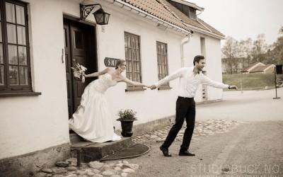 Bryllupsshoot i leiren i Stavern
