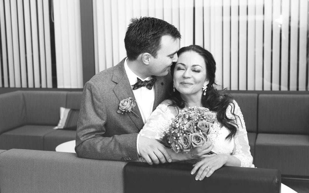 Bryllupsfoto Fossekallen Oslo