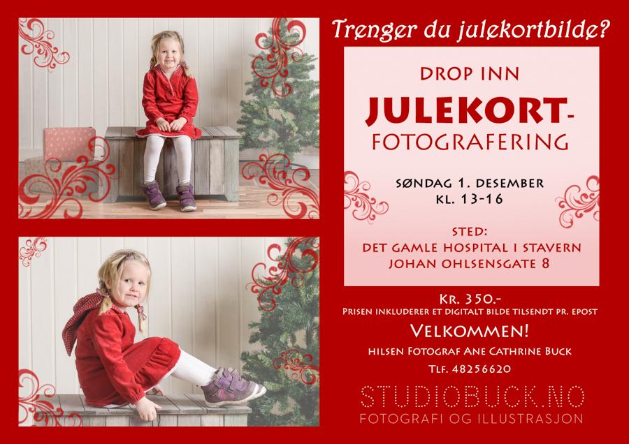 1.DESEMBER JULEKORTFOTOGRAFERING