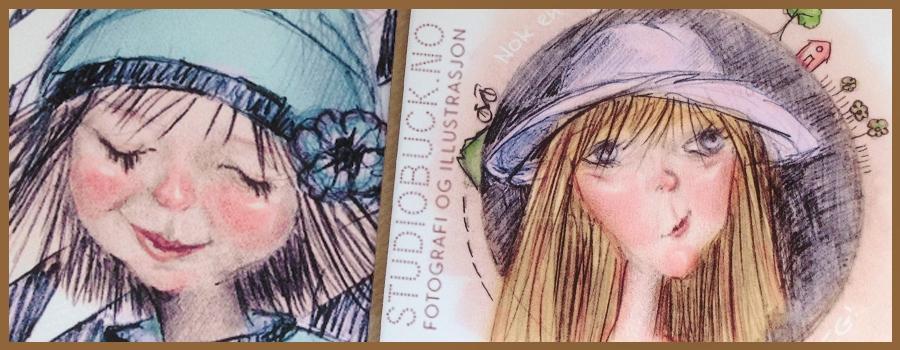 Vår i luften og tegneglede = ny inspirasjon = nye illustrasjoner!
