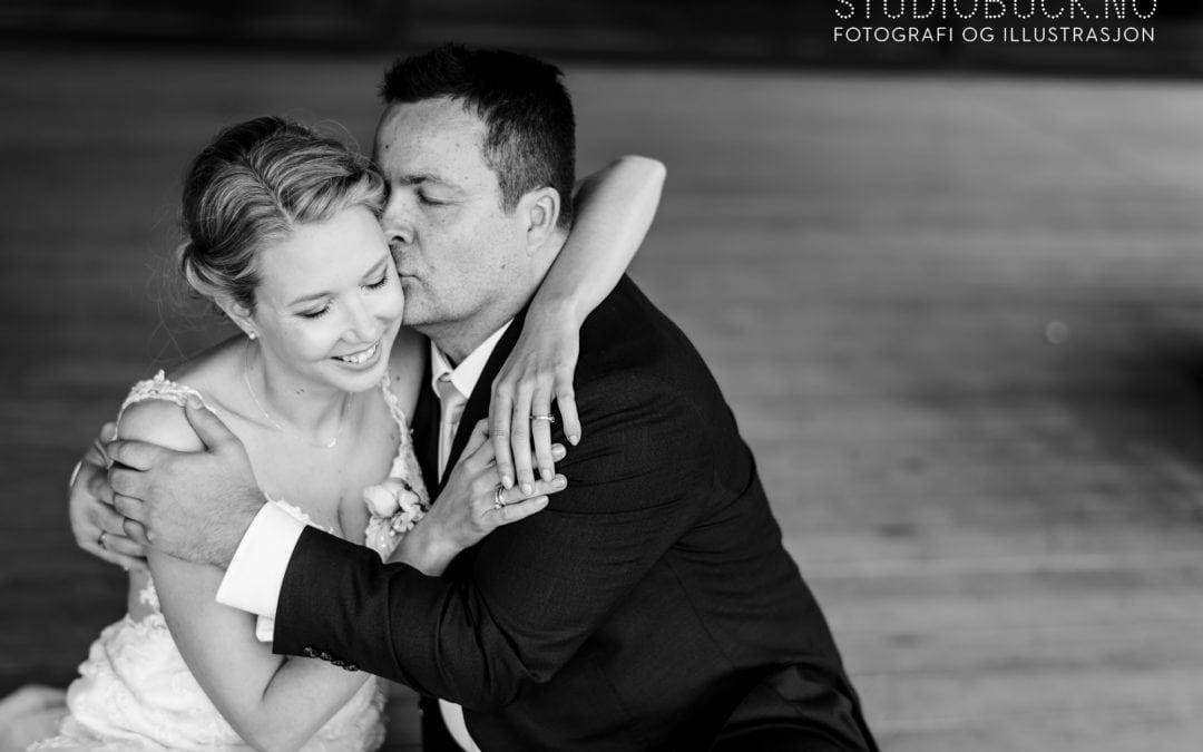 Bryllup i Larvik og Farris Bad