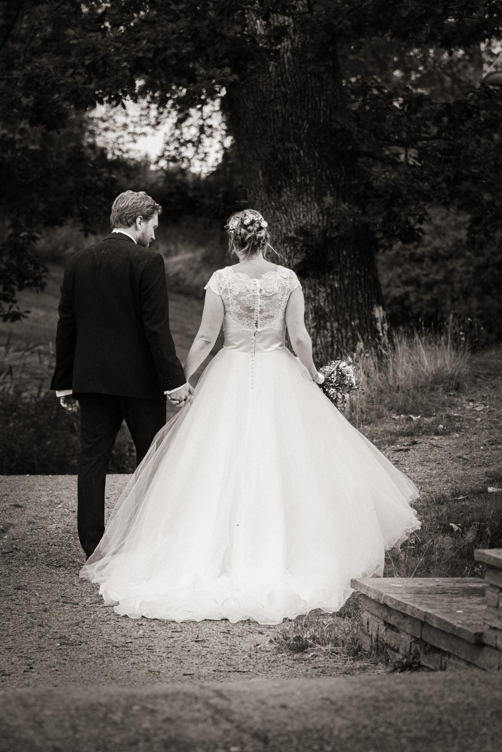 Bryllup brudekjolen