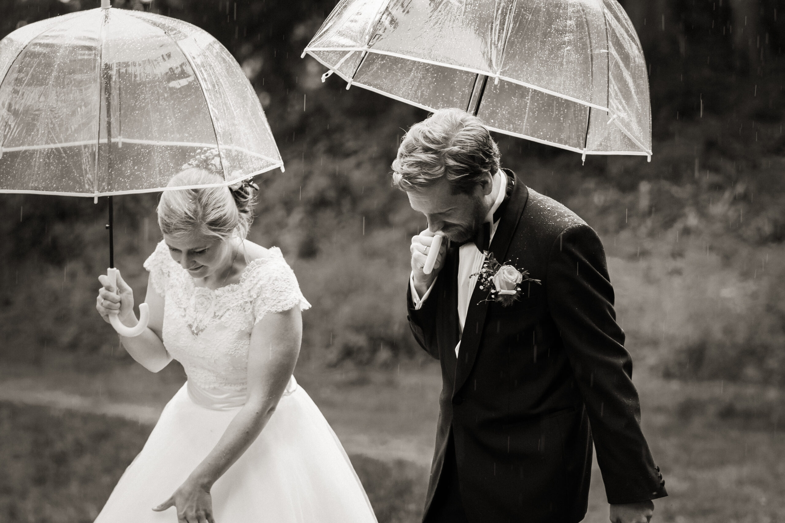 Bryllup paraplyer