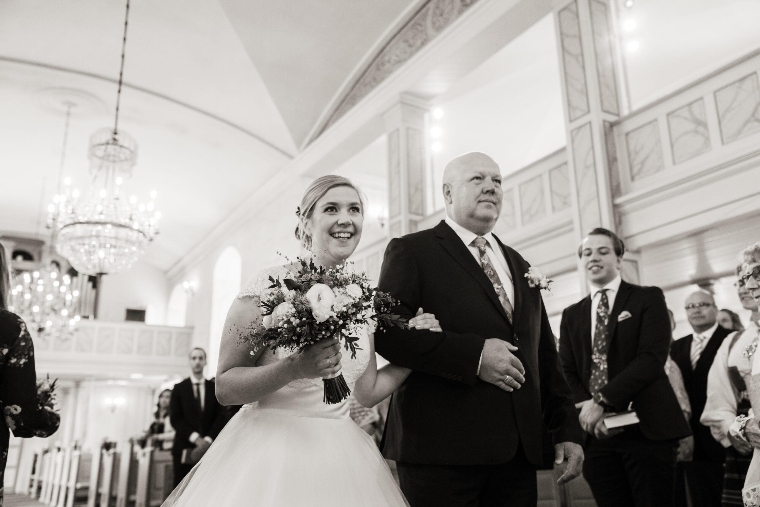 Bryllup i Nøtterø kirke