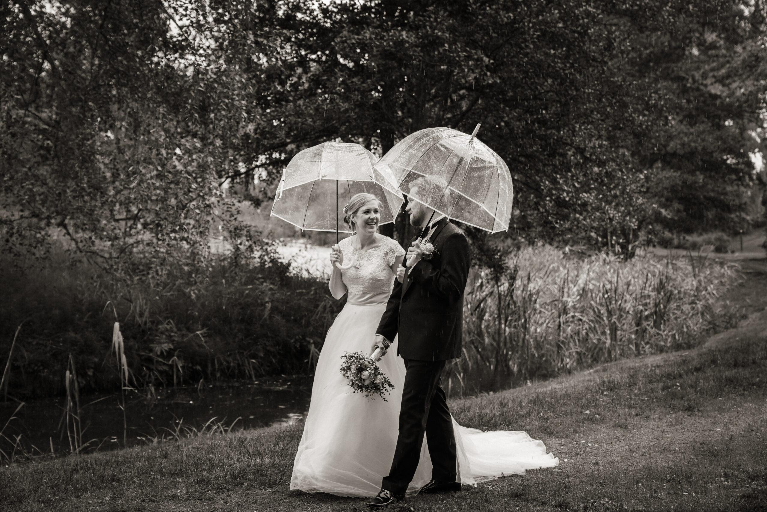 Bryllup og regn