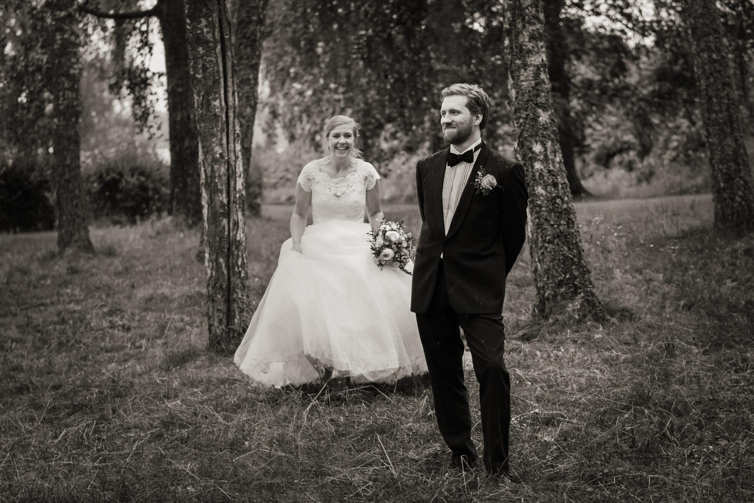 Bryllupsportretter i Rosanesparken