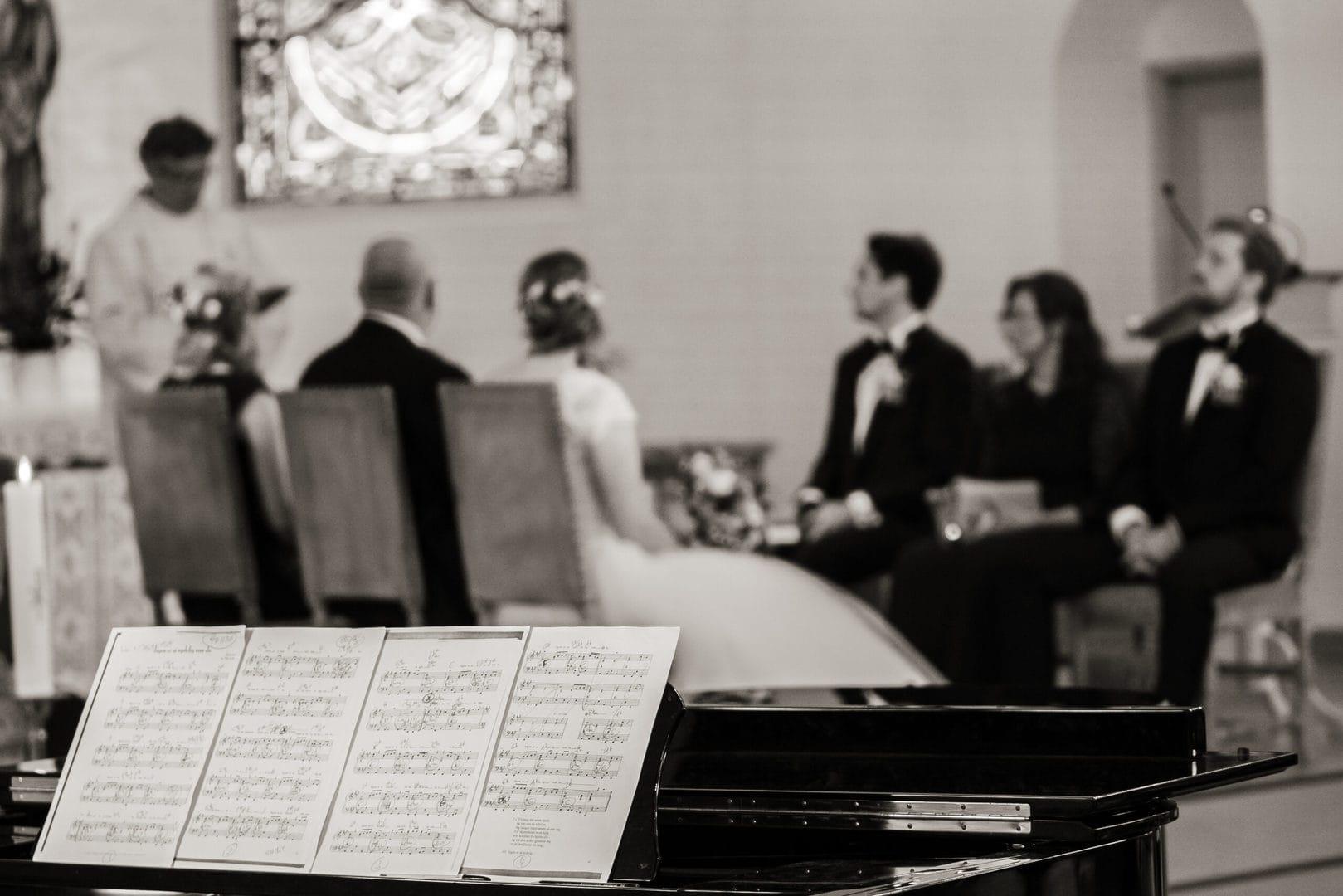 Bryllup i Nøtterø kirke musikk