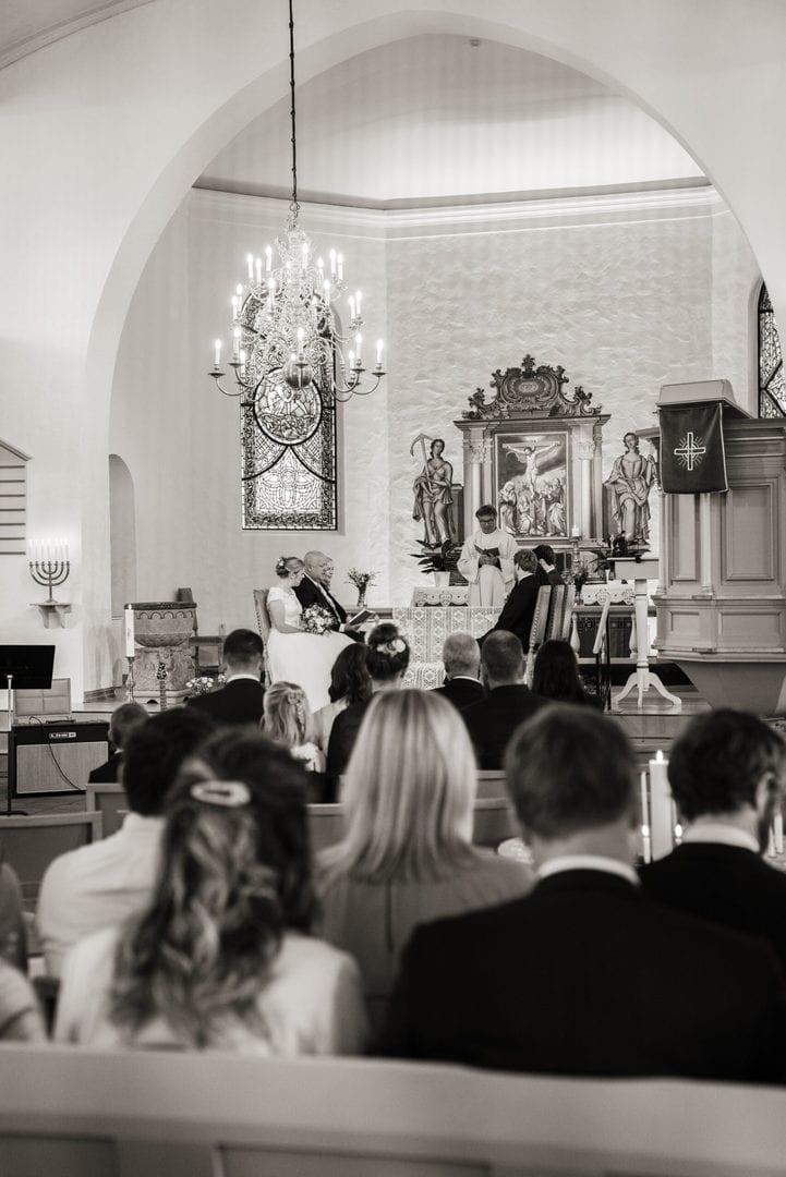 Bryllup i Nøtterø kirke vielsen