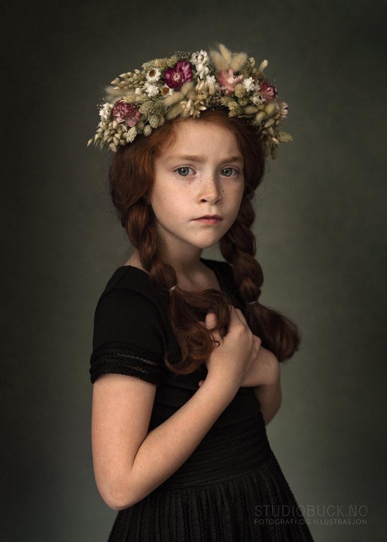 Fineart portrett portrettfotograf Ane Cathrine Buck STUDIOBUCK