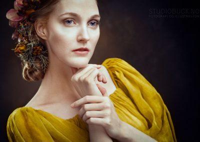 Fineart portrett Fotograf Ane Cathrine Buck Studiobuck Klassisk portrett