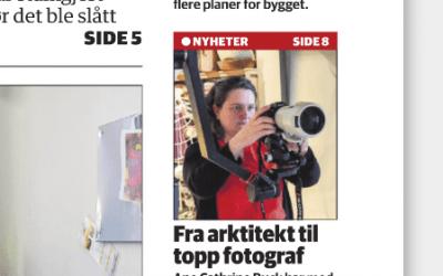 Østlandsposten på visitt i studio