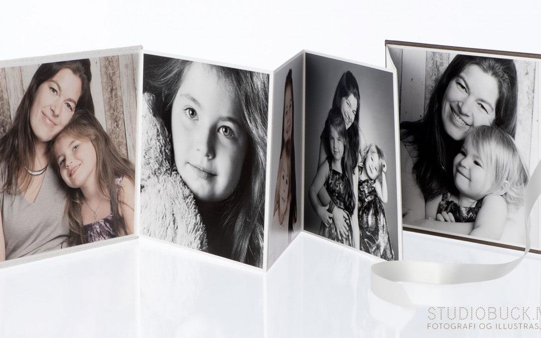 Familiefotografering ble premien i facebook konkurransen