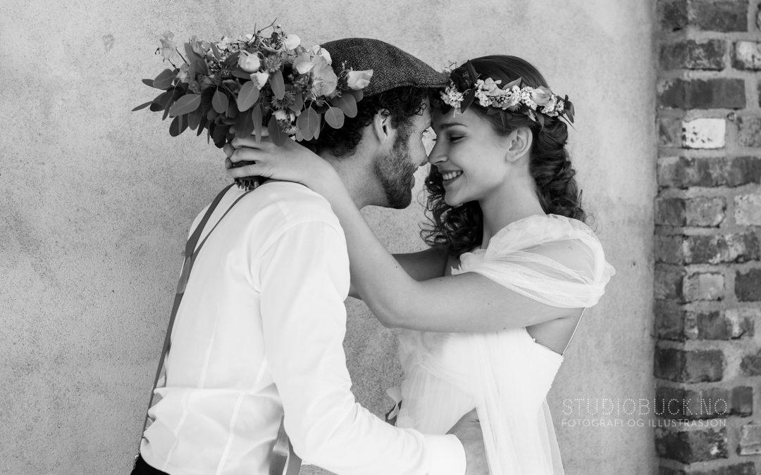 Bryllupshoot i Drammen
